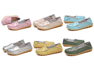 Spring Leather Loafer - Six Colours & Five Sizes Available