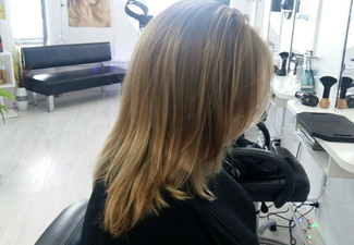 Style Cut, Shampoo, Condition, Head Massage, Blow Dry with Return Voucher - Option to incl. Oil Treatment, Blow Wave/GHD Finish, or Half Head of Foils
