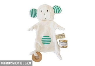Organic Baby Gift Sets - Option for Smoochie & Balm or Deluxe Set