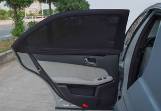 Two-Pack Car Window Sun Shades - Option for Four or Eight with Free Delivery