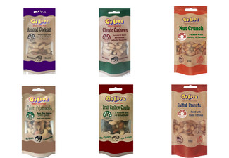 12-Pack Variety Mix of GONUTZ Pouches