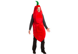 $20 for a Chili Pepper Costume – Pick up from Nine Locations