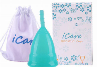 Menstrual Cup - Platinum Medical Grade Silicone - Eight Colours