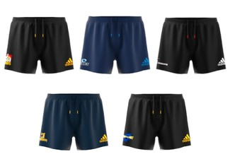 Official Super Rugby Supporter Shorts Range - Five Styles & Seven Sizes Available