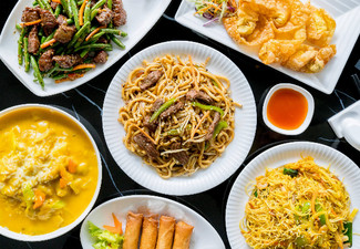 Three-Course Chinese Banquet for Two People - Two Menus Available & Options for Four or Six People