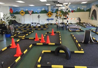Round of Mini Golf on an Indoor Mini Golf Course