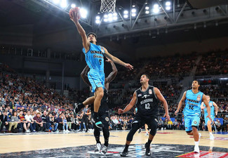 Two Gold SKYCITY Breakers vs. Perth Wildcats Tickets at Spark Arena on Sunday 6th January 2019 - Options for Diamond Tickets (Booking & Service Fees Apply)