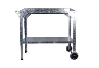 Garden Steel Potting Bench Trolley