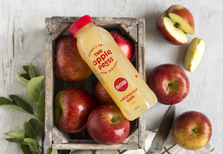 One 12-Pack of The Apple Press Braeburn Apple Juice 800ml - Options for up to Four Packs Available - Short Dated Stock