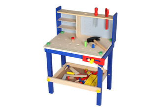 Wooden Kid's Workshop Set