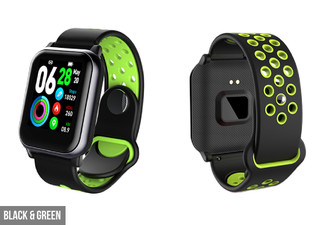 Multi-Sports Smart Watch - Five Colours & Option for Two Available
