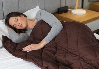 Weighted Blanket Range - Four Weights & Two Colours Available