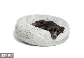 Super Soft Pet Bed - Three Colours & Six Sizes Available