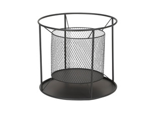 Quick Fire Modern Outdoor Round Fire Basket