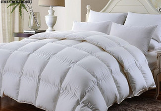 Luxury Winter Weight 600GSM Feather Down Duvet Inner Range - Five Sizes Available