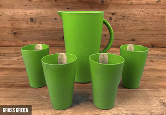 Biodegradable Eco Revolution Bamboo Jug & Tumbler Set