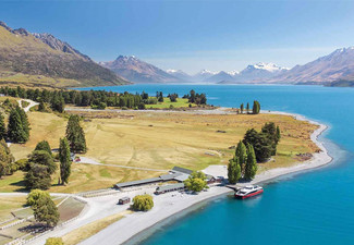 Spirit of Queenstown Scenic Cruise for One Adult - Option for Two People or to incl. a Two-Hour Mt Nicholas Farm Experience with Farmers Lunch Platter or Afternoon Tea
