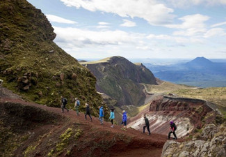4.5 Hour Mount Tarawera Guided Walk - Options for up to Six People