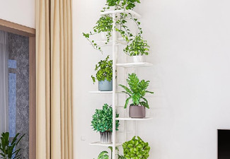 Eight-Tier Plant Stand