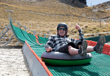 $25 for One-Hour of Mountain Tubing incl. Tube Rental, Helmet & One-Hour Access to the Tubing Course for Two People