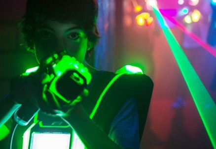 One 15-Minute Game of Laser Tag for One-Person