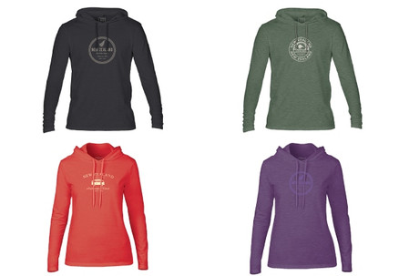 Premium NZ Hoodie Range - Four Styles & Five Sizes Available
