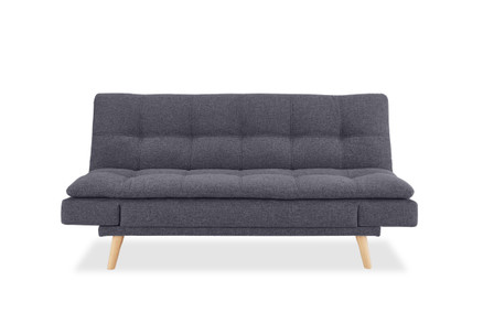 Plysch Three-Seater Sofa Bed