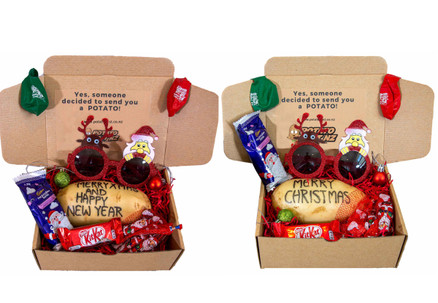 Potato Christmas or Potato New Year Combo Bundle