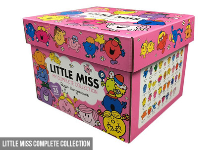 Little Miss Complete Collection - Option for Mr Men Complete Collection or Both