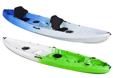 Skull Triple Kayak incl. Paddles & Seats - Two Colours Available