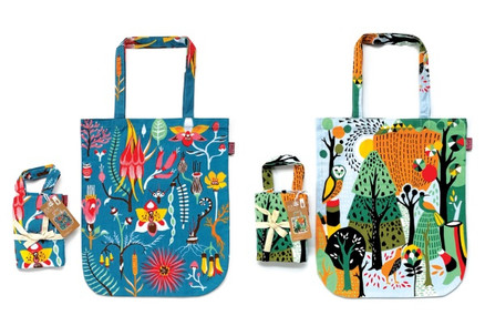 Two-Pack of Kiwiana Tote Bags - Two Styles Available