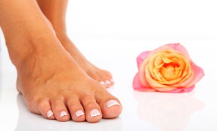$19 for a Mini Manicure with Gel Polish, $25 for a Mini Pedicure with Gel Polish, or $40 for Both (value up to $90)