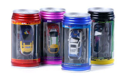 $20 for a Mini Remote Controlled Car in a Can incl. Nationwide Delivery