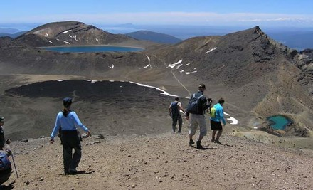 $255 for Two Nights for Two incl. Cooked or Continental Breakfast, a Packed Lunch & Transfers to the Tongariro Alpine Crossing (value up to $470)
