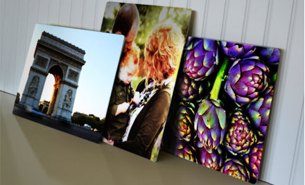 $39 for a Personalised High Definition Aluminium  60 x 40cm Photo Print Incl. Nationwide Delivery