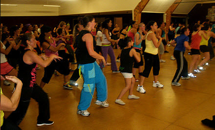 $29 for 10 Zumba & Bokwa Fitness Classes (value $100)
