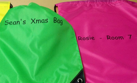 $15 for a Personalised Swimming Bag in One of 12 Options incl. Nationwide Delivery