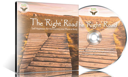 $9 for One or $19 for Both 'The Right Road' Self-Hypnosis CD & 'Just Zen It' Meditation CD (value up to $46)