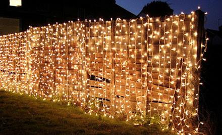 240 Led Solar Fairy Light Curtain Grabone