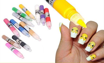 $15 for a 3D Nail Art Pen Set
