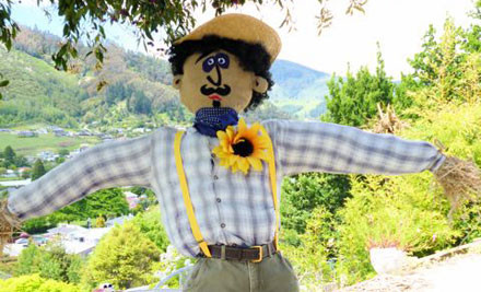 $70 for a Six-Foot Original Scarecrow for Your Garden (value $140)