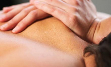$30 for a Massage Package, incl. Back, Neck & Shoulder Massage, Head & Facial Massage, & Foot Massage (value $60)