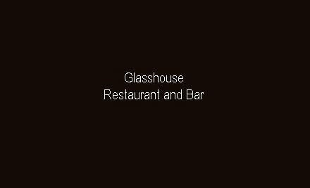 $20 for $50 Food & Beverage Voucher at Glasshouse Bar & Restaurant @ Kingsgate (value $50)