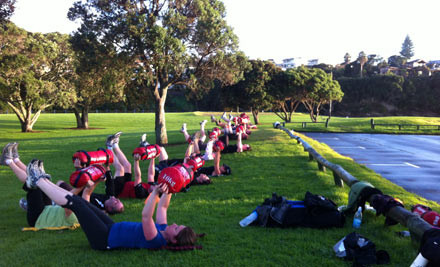 $39 for a Five-Week Outdoor Fitness Boot Camp with Two Sessions Per Week or $59 for Three Sessions Per Week - Three Auckland Locations (value up to $165)