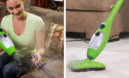$79 for a Five-in-One Steam Mop with 12-Month Warranty (value $249)