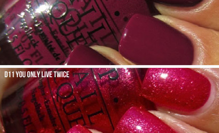 $17 for a Bottle of O.P.I 007 Nail Lacquer incl. Nationwide Delivery