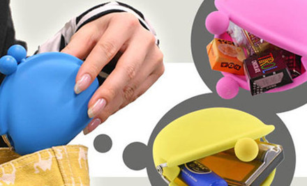 $9 for a Pochi Silicone Coin Purse or $15 for Two