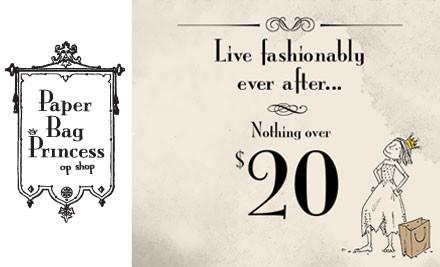 $25 for $50 Voucher at Paper Bag Princess (value $50)