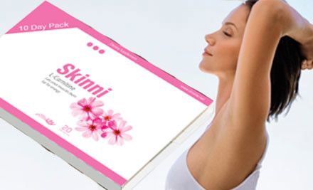 $5 for a 10-Day Skinni L - Carnitine Trial Pack incl. Nationwide Delivery (value $45)