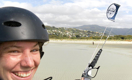 $75 for a Three-Hour Kitesurf IKO Level One Introductory Course (value ($150)